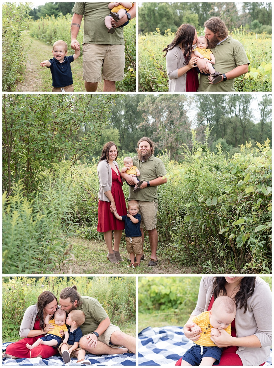 Marshall WI Family Session